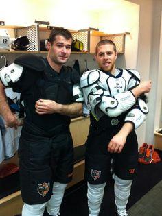 Patrick Marleau and Joe Pavelski