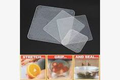 Cheap food cover, Buy Quality cover food directly from China stretch lids Suppliers: Multifunctional Food Fresh Keeping Saran Wrap Kitchen Tools Reusable Silicone Food Wraps Seal Vacuum Cover Lid Stretch Food Storage, Kitchen Storage, Storage Organization, Food Huggers, Clever Inventions, Wraps, Kitchen Helper, Leftovers Recipes, Food Bowl