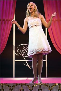 Laura Bell Bundy... Can I just say, she was SO GOOD in Legally Blonde the Musical?! She's so sweet too!