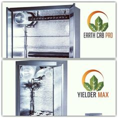 Earth Cab Pro vs Yielder Max which one do you like? #cabinetgrow #yieldermax #earthcabpro #hydroponics #homegrowing