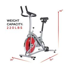 Indoor Cycling Bike Stand Trainer Cardio Workout Home Fitness Gym Exercise   SunnyHealthFitness At Home Workouts 7625a1bfb1d