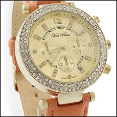 I love how this watch looks! Not over the top bling and able to wear daily.