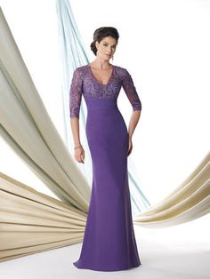 Montage by Mon Cheri Mother of the Bride Dress style 114907