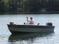 Boating on Lake Owen