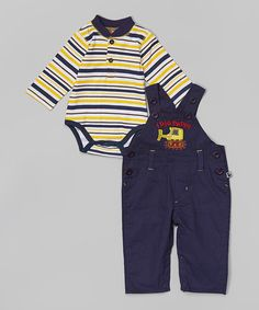 NWT Carter/'s Baby Boys/' Denim Blue Jumpsuit Athletic Division Button Up Infant