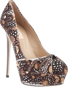 Valentino. I don't think I can handle that thin of a heel though!