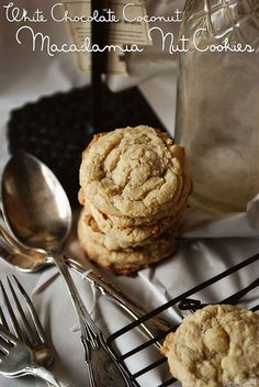 yum, white chocolate macadamia nut cookies