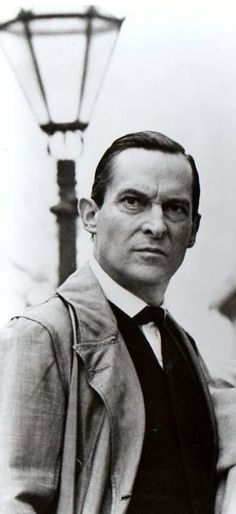 There's Basil Rathbone, who was good, but then there's Jeremy Brett who was brilliant! #MySherlockHolmes