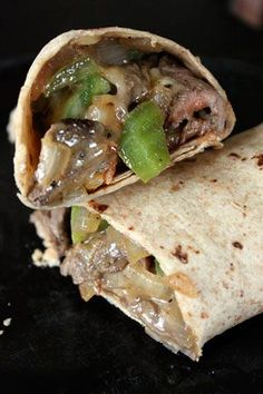 Cheesesteak Wraps weight watchers.