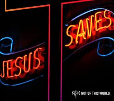 """Jesus Saves. This message is short, but powerful. It implies that people have a problem that they cannot fix. It implies that Jesus is the solution. Many people look at the sign and either don't care or don't know it's meaning. The message is there. Jesus says, """"Come to me, all you who are weary and burdened, and I will give you rest,"""" (Matthew 11:28). Jesus doesn't want anyone to perish (2 Peter 3:9). But we need to realize that we desperately need a Savior, and that Jesus is the Savior."""