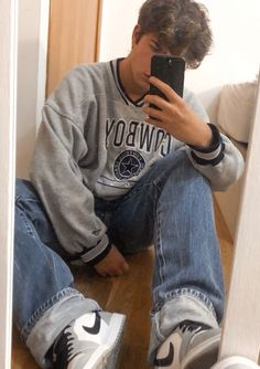 Indie Outfits, Retro Outfits, Vintage Outfits, Stylish Mens Outfits, Casual Outfits, Male Outfits, Stylish Clothes, Hommes Grunge, Mens Clothing Styles