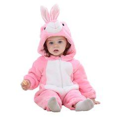 Idgirl primavera outono roupas de bebê flanela roupa do bebé Animal dos desenhos animados macacão bebê menina macacão de bebê roupas XYZ15088 em Macacão/Body de Mãe & Kids no AliExpress.com | Alibaba Group