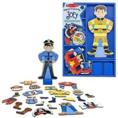 MELISSA & DOUG MD3550 SET MAGNETIC - SA-L IMBRACAM PE JOEY 3ANI+ Melissa & Doug, Smurfs, Toys, Fictional Characters, Activity Toys, Clearance Toys, Gaming, Fantasy Characters, Games