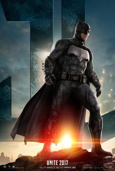 Batman - Justice League character poster