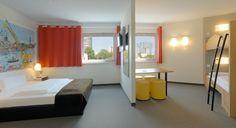 Familienzimmer für 4 Personen im B&B Hotel Hamburg-Harburg
