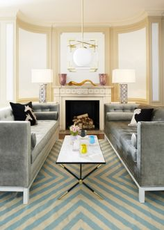 Genial Look To Jonathan Adler To Luxe Up Your Living Room.