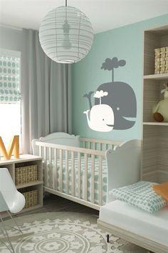 Décoration chambre bébé garçon en bleu – 36 idées cool | Pour la ...