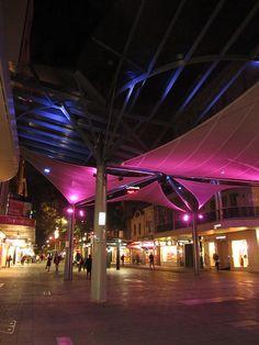Rundle Mall, Adelaide, Australia.