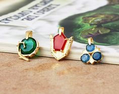 Spiritual Stone necklace from the Legend of Zelda