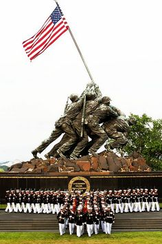 US Marine Corps War Memorial. My retirement flag was flown here. Once A Marine, Marine Mom, Us Marine Corps, Marine Corps Birthday, The Few The Proud, My Champion, Support Our Troops, Military Life, Military Humor