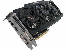 GIGABYTE GV-N760OC-2GD REV2.0 GeForce GTX 760 2GB 256-Bit GDDR5 PCI Express 3.0 HDCP Ready WindForce 3X 450W Video Card