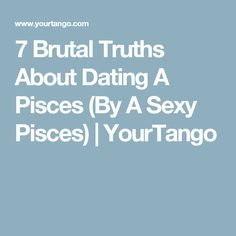 brutal truths about dating taurus