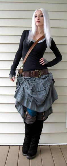 Kato from Steampunk Couture, from her LookBook. Check her out at https://www.facebook.com/steampunkato