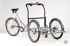 Cherche vélo triporteur Christiania bikes tricycle
