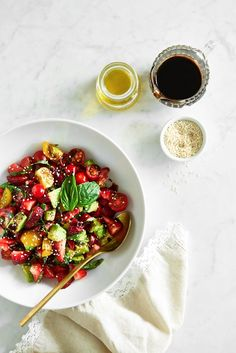 Avocado Strawberry Caprese