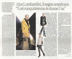 LA REPUBBLICA AFFARI & FINANZA Italia - November 18th 2013 _ Pag. 44: Brand review & news for #AtosLombardini.