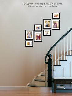 Wall Layout Stairs Design | brandiemariephotography.com