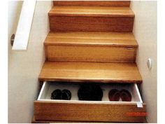 drawer with staircase (=