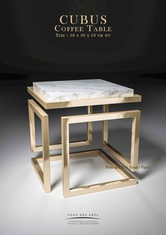 43 Stunning Coffee Table Design Ideas People want to have beautiful furniture in their homes. They also want for that furniture to be sturdy. Coffee Table Design, Diy Coffee Table, Unique Coffee Table, Coffee Menu, Design Table, Art Furniture, Industrial Furniture, Furniture Design, Palete Furniture