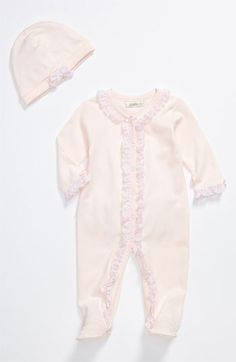 Miniclasix Footie & Hat (Infant) available at #Nordstrom