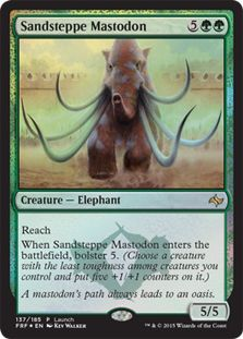 $0.25 Sandsteppe Mastodon (Fate Reforged Launch)