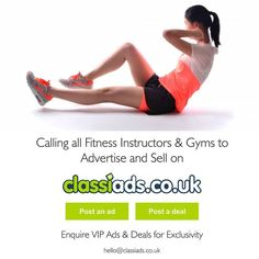 Calling all gyms, health and fitness instructors and people to join us for free.  You can advertise, Sell your services and products with us.  https://classiads.co.uk  #CLASSIADSUK #London #Buckinghamshire #MiltonKeynes #Brighton #oxford #oxfordshire #england #bristol #city #mylondon #ukbloggers #britishbloggers #britishgirls #Manchester #ukshopping #camden #soholondon #bbc #bigbrother #itvstudios #Sussex #Yorkshire #bristol #uk