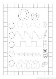 pregrafismo percorsi lettera o Preschool Worksheets, New Years Eve Party, Pre School, Special Education, Baby Quilts, Pixel Art, Montessori, Alphabet, Homeschool
