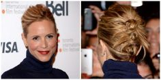 Maria Bello Knotted Updo