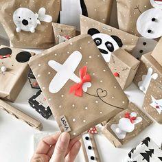 Christmas Gift Wrapping, Diy Christmas Gifts, Christmas Fun, Creative Gift Wrapping, Creative Gifts, Wrapping Ideas, Gift Wraping, Diy Advent Calendar, Handmade Birthday Cards