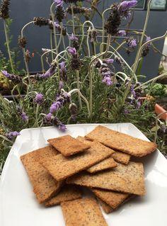 Keto Crackers – Lavender Parmesan – No Sugar Thanks