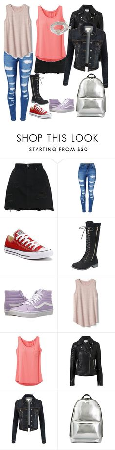 """""""Untitled #16"""" by kkboyce ❤ liked on Polyvore featuring WithChic, Converse, Vans, Gap, prAna, Witchery, LE3NO, 3.1 Phillip Lim and Lizzy James"""