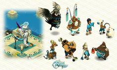WAKFU MMORPG, videogame art on Behance