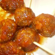 Easy Beer and Ketchup Meatballs Recipe on Yummly