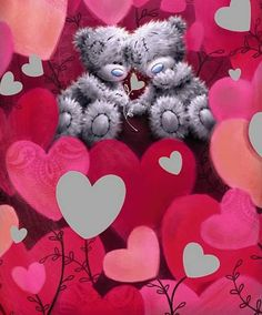 ♥ Tatty Teddy ♥ Tatty Teddy, Valentine Images, Valentine Day Love, Valentines, Mickey Mouse Wallpaper, Bear Wallpaper, Hugs And Kisses Quotes, Teddy Bear Quotes, Ted Bear