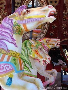 Carousel horses by Fredda  Tone, via Dreamstime