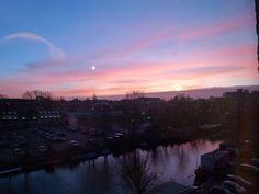 een mooie zonsondergang