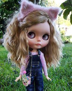 Blythe ✿✿✿ Blythe Dolls, Ooak Dolls, Zombie Dolls, Pretty Dolls, Beautiful Dolls, My Doll House, Dream Doll, Kawaii Doll, Hello Dolly