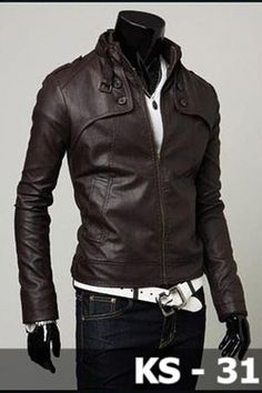 Leather Korean Jacket
