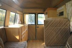 Camper van home builder furniture and layout examples | Campervan Life