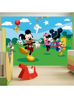 Disney Mickey Mouse Summers Day Large Wall Mural. $52.